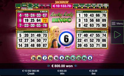 Lucky Lady Bingo™
