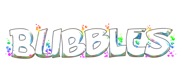 Colourful bubbles dance for you! Logo