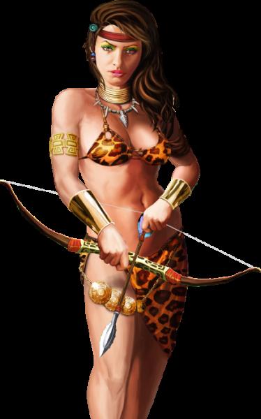Jungle Queen Featured